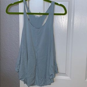 Urban outfitter blue tank